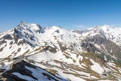 Vue panoramique alpine Photos libres de droits