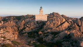 Vue panoramique au-dessus de Porto Pollo Photographie stock