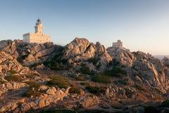 Vue panoramique au-dessus de Porto Pollo Images stock