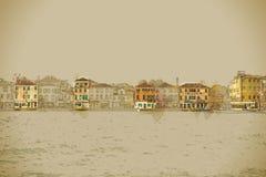 Vue panoramique d'île de Giudecca Photographie stock