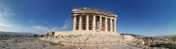 Vue panoramique d'Acropole d'Athènes image libre de droits