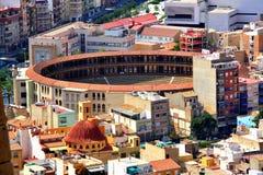 Vue panoramique d'Alicante, Espagne photographie stock libre de droits