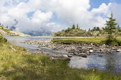 Vue panoramique d'Alpes photos libres de droits