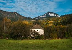 Vue panoramique d'Alpes bavaria l'allemagne photo libre de droits