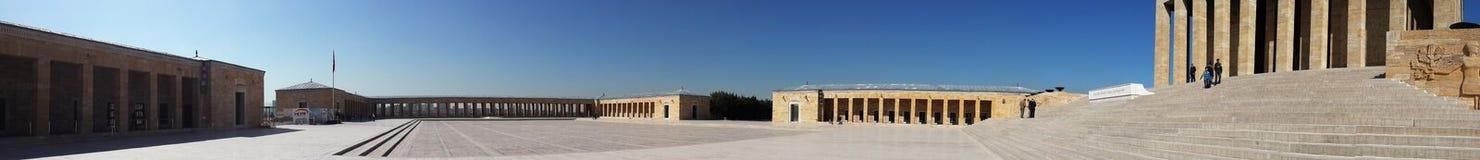 Vue panoramique d'Anitkabir images libres de droits