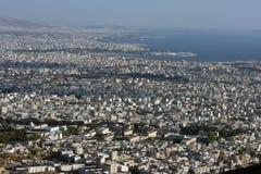 Vue panoramique d'Attica du sud Photos libres de droits