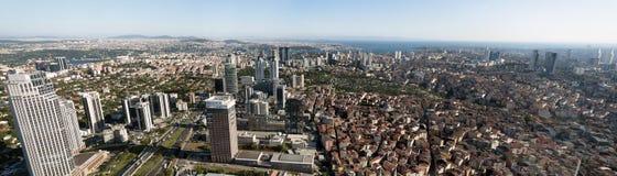 Vue panoramique d'Istanbul Images libres de droits