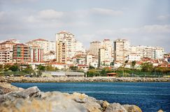 vue panoramique d'Istanbul Image stock