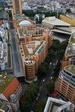 Vue panoramique de Berlin image stock