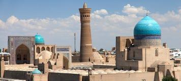 Vue panoramique de Boukhara d'arche Photo stock