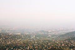 Vue panoramique de Budapest, Hongrie photographie stock