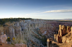 Vue panoramique de canyon de Bryce Photos libres de droits