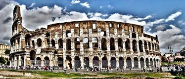Vue panoramique de Colosseum, Rome, Italie photographie stock libre de droits