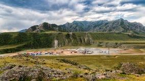 Vue panoramique de construction à grande échelle photos libres de droits