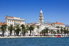 Vue panoramique de fente Croatie photos stock