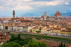 vue panoramique de Florence Images stock