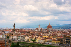 vue panoramique de Florence Photo stock