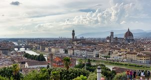 Vue panoramique de Florence, Italie photos stock