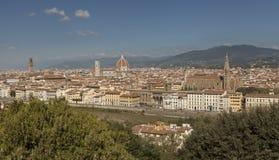 Vue panoramique de Florence, Italie Photographie stock libre de droits