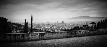 Vue panoramique de Florence, Italie Image stock