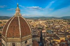 Vue panoramique de Florence, Italie Photo libre de droits