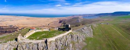 Vue panoramique de forteresse d'Enisala images libres de droits