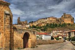 Vue panoramique de Frias photographie stock libre de droits