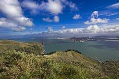 Vue panoramique de golden gate bridge Photo libre de droits