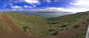 Vue panoramique de golden gate bridge Photos libres de droits