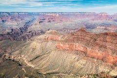 Vue panoramique de gorge grande Image libre de droits