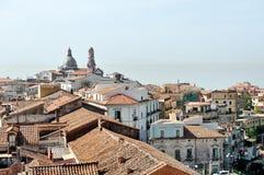 Vue panoramique de jument de sul de Vietri, Italie photo libre de droits