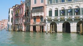 Vue panoramique de l'architecture de Venise clips vidéos