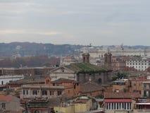 Vue panoramique de l'horizon 14 de RomePhotos stock