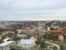Vue panoramique de l'Iasi photo libre de droits