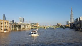 Vue panoramique de la ville de Londres images stock