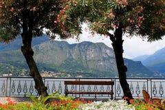 Vue panoramique de lac Photographie stock libre de droits