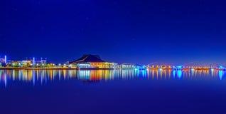 Vue panoramique de lac de ville de Tempe photo libre de droits