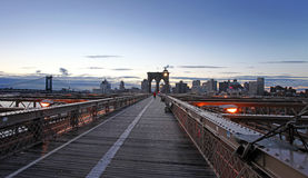 Vue panoramique de Manhattan les Etats-Unis neufs York photos stock