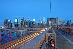 Vue panoramique de Manhattan les Etats-Unis neufs York Photographie stock