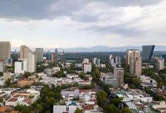 Vue panoramique de Mexico - Polanco Reforma photos libres de droits