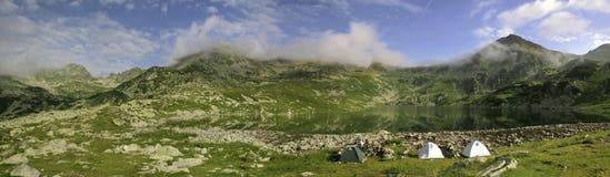 Vue panoramique de montagne Image libre de droits