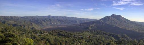 Vue panoramique de montagne de balinese Image stock