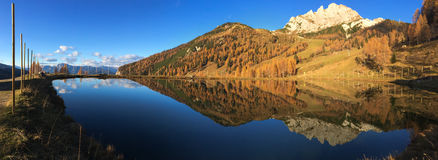 Vue panoramique de Nassfeld dans Carinthie Photos stock