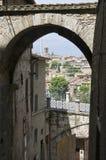 Vue panoramique de Pérouse. l'Ombrie. images stock