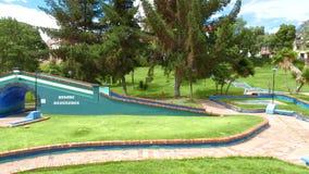 Vue panoramique de parc de la Colombie Tunja Santander clips vidéos