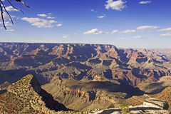 Vue panoramique de parc national de Grand Canyon en Arizona, Etats-Unis Photographie stock libre de droits