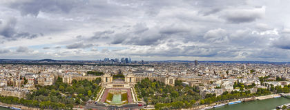 vue panoramique de Paris Photos libres de droits
