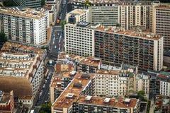 Vue panoramique de Paris image libre de droits