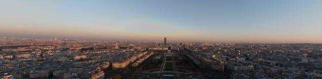 Vue panoramique de Paris Photo stock