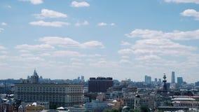 Vue panoramique de partie moderne de Moscou, capitale de la Russie Jour ensoleill? clips vidéos